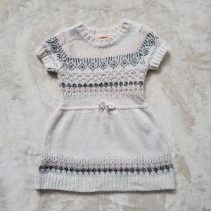 Joe Fresh Off White Knitted Dress Sz 2